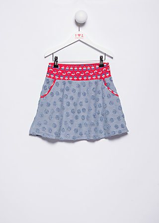 skiddeldy swing skirty, frottee beachlove, Röcke, Blau