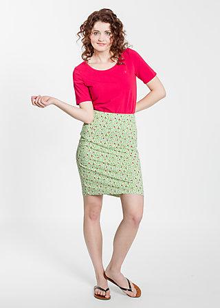 slender tendrill skirt, cutesy wootsy, Jerseyröcke, Grün