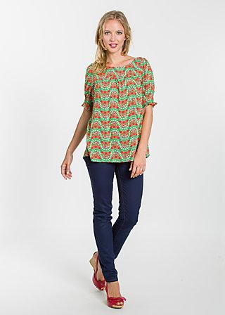slip slup blouse, bright bungalow, Blouses, Grün
