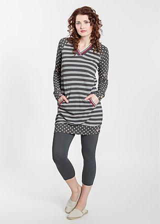 sportsfreund longsweat, sporting stripes, Pullover, Schwarz
