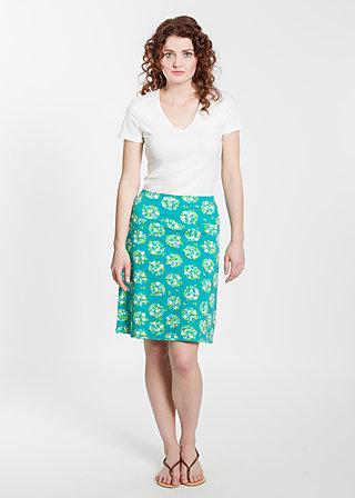 stuhltanz mädel skirt, flower shopper, Röcke, Türkis