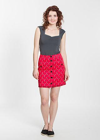 subbotnik skirt, lovely ladybug, Webröcke, Rot