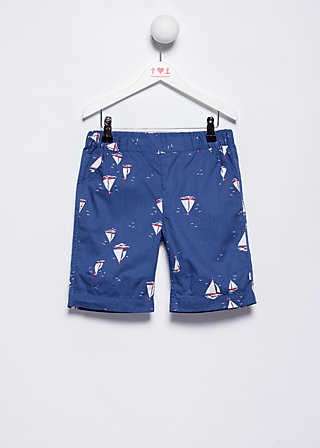 sunny sunday shorts, miss baltic sea, Trousers, Blau