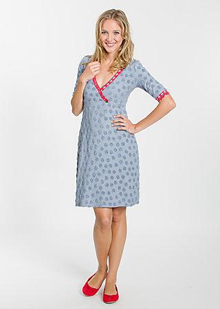 tupferter hupfer dress, frottee beachlove, Kleider, Blau