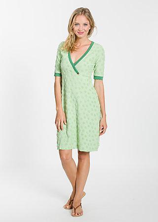 tupferter hupfer dress, hobbyfarming frottee, Jerseykleider, Grün