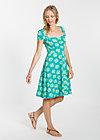 wunderbare wendejahre dress, flower shopper, Kleider, Türkis