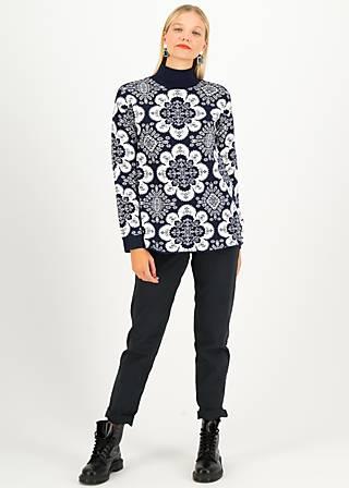 Rollkragenpullover magic carpet, carpet maritime , Pullover & Sweatshirts, Blau