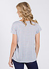 birkenlund slip sloup blouse , swedish tiles, Shirts, Blau
