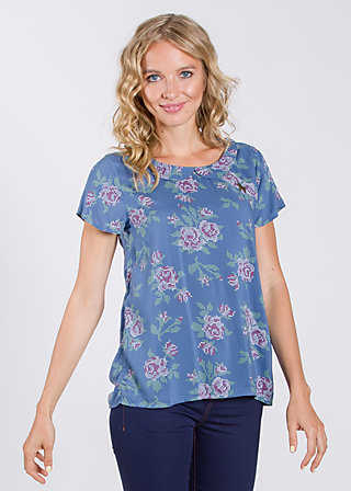 birkenlund slip sloup blouse , be the queen, Blusen, Blau