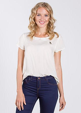 birkenlund slip sloup blouse , white lily, Shirts, Weiß