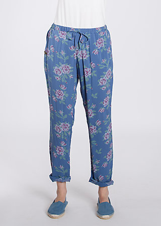 careless lightweight pants, be the queen, Hosen, Blau