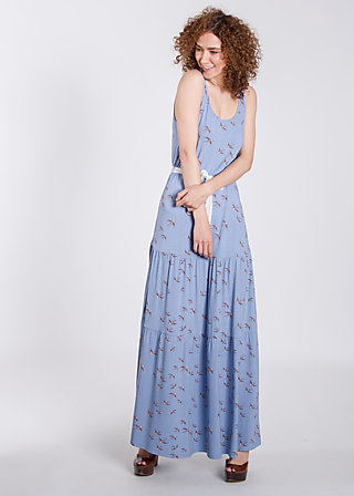 gripsholm sunset robe , swallow swing, Jerseykleider, Blau