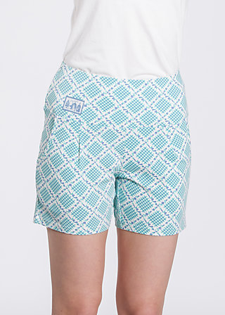 Hej hej Power shorts, vichy villekulla, Trousers, Blau