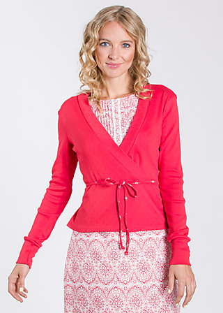 idas sommarvisa cardy, rich red, Cardigans, Rot
