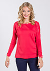 kleiner onkel pullover, rich red, Pullover, Rot