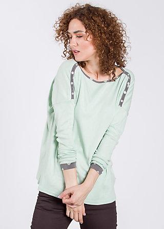 kleiner onkel pullover, midsommar mint, Pullover, Grün