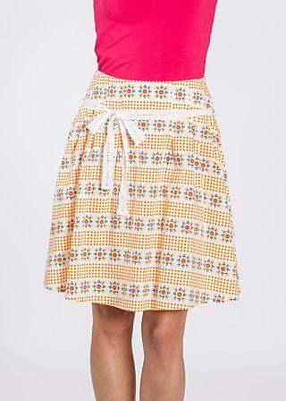 polkagrisar glocke, sommar svenska, Skirts, Gelb