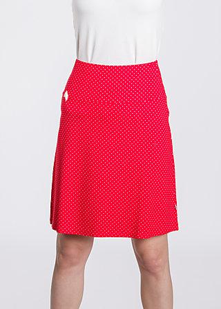 sommarblomma skirt , ida madita, Jerseyröcke, Rot