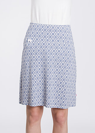 sommarblomma skirt , salon nr five, Skirts, Blau