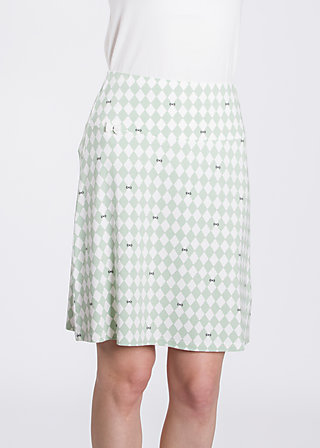 sommarblomma skirt , smart smaland, Skirts, Grün