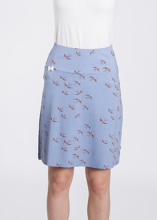 sommarblomma skirt , swallow swing, Röcke, Blau