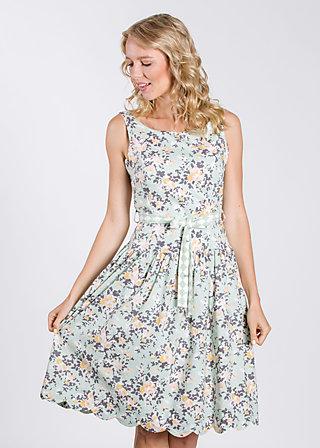 sommerliebe robe, bloomy blomsteräng, Kleider, Grün
