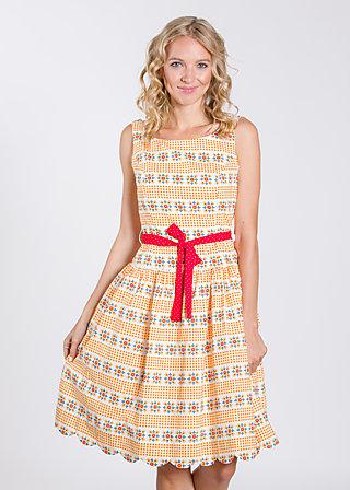 sommerliebe robe, sommar svenska, Kleider, Gelb