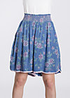 sommerwelle skirtpants, be the queen, Hosen, Blau