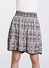 sommerwelle skirtpants, fantasifullt forest, Shorts, Schwarz