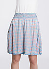 sommerwelle skirtpants, swedish tiles, Hosen, Blau