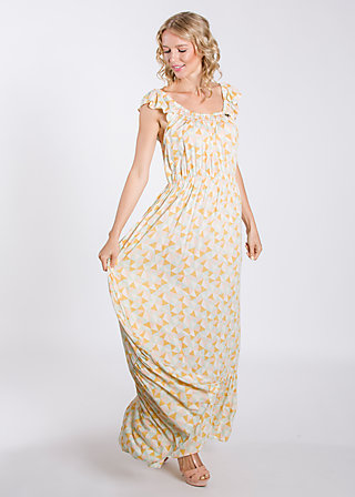stockholm sundown gown, stock and holm, Webkleider, Gelb