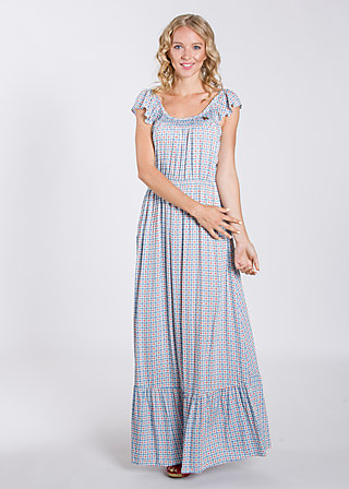 stockholm sundown gown, swedish tiles, Kleider, Blau