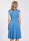 upsalla tralala robe, blue blommor, Kleider, Blau