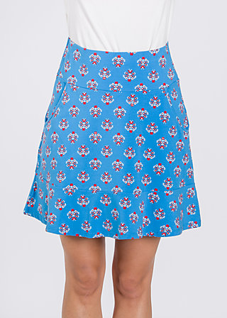 very me volanterie skirt , blue blommor, Skirts, Blau