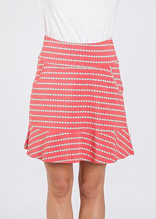 very me volanterie skirt , fullt falunröd, Skirts, Rot