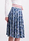 daddys girl skirt, leaf of paradise, Jerseyröcke, Blau