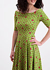 deetas dolce vita dress, sweet flower dots, Jerseykleider, Grün