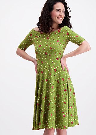 deetas dolce vita dress, sweet flower dots, Jersey Dresses, Grün