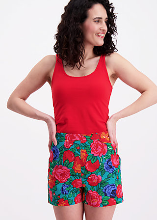 island in the sun shorts, frida flores, Shorts, Türkis