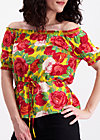 pennys blouse, roses of joy, Blusen, Gelb