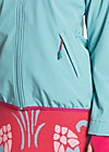 cosy rainstorm survival zip, good weather blue, Jacken, Blau