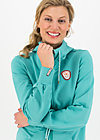 Zip-up Jacket aura paramour, aqua blue, Cardigans & lightweight Jackets, Turquoise