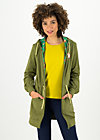 aura paramour jacket, camo khaki, Pullover & leichte Jacken, Grün