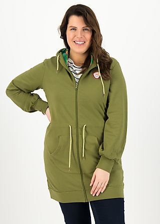 aura paramour jacket, camo khaki, Jumpers & lightweight Jackets, Green