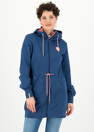 aura paramour jacket, maritim blue, Jumpers & lightweight Jackets, Blue