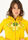 Zip Top vitamine beauté, corn yellow, Zip jackets, Yellow