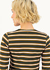 breton heart tee, forest night stripes, Shirts, Braun