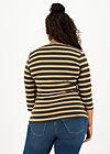 breton heart tee, forest night stripes, Shirts, Braun