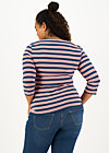 Shirt breton heart, majolica blue stripes, Shirts, Blau