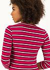 Shirt breton heart, morning glory stripes, Shirts, Red